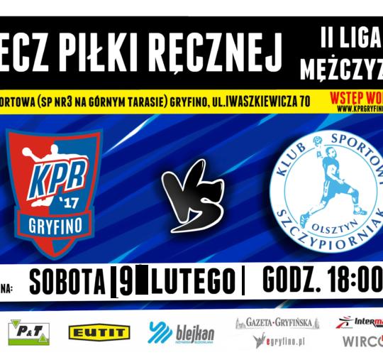KPR Gryfino vs. KS Szczypiorniak Olsztyn