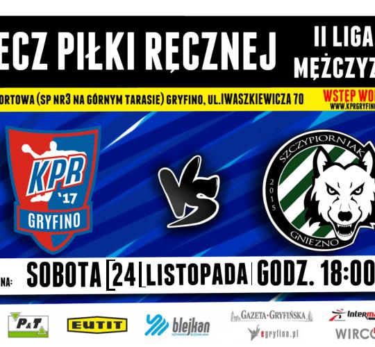 KPR Gryfino vs. KS Szczypiorniak Gniezno