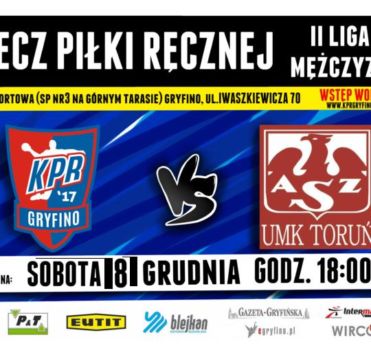 KPR Gryfino vs. AZS UMK Toruń