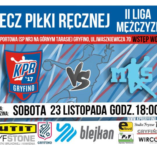 KPR Blejkan Gryfino 21:25 MKS Brodnica.
